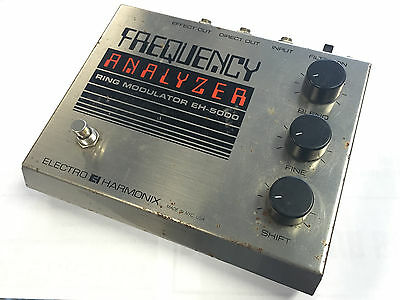 Electro-Harmonix Frequency Analyzer Ring Modulator Big Box Pedal w/ Power Cable