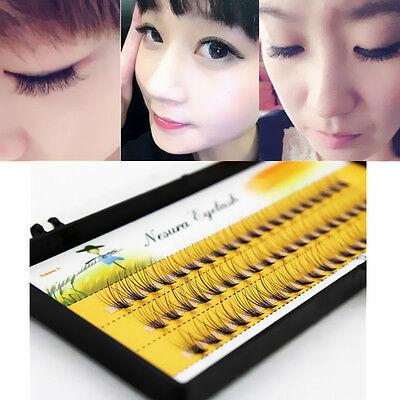 12MM Eye Lash Extension Long Natural Makeup False Eyelashes Tool Individual