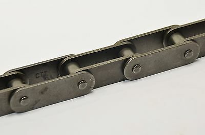 """C2060H 1-1/2"""" Heavy Double Pitch Conveyor Chain 10 Ft Box With Connecting Link"""