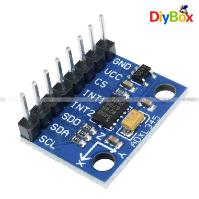 ADXL345 3 Axis Digital Acceleration Of Gravity Tilt Module For Arduino new D