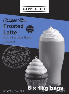 Frosted Latte Coffee Lactose Free (6 x 1kg bag)