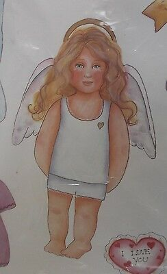 The Original Magnetic Paper Dolls ANGEL 9 Outfits & Accessories Large Set HTF