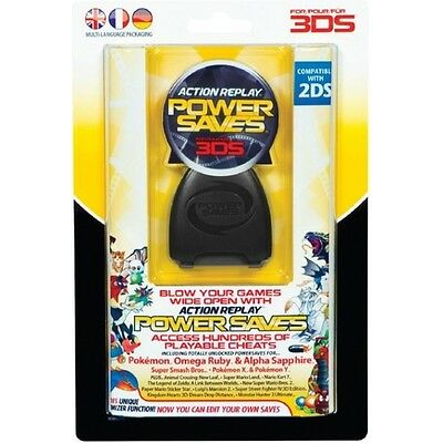 3DS Datel Action Replay Power Saves - Brand New