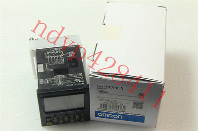 NEW IN BOX OMRON Counter H7CX-A-N H7CXAN 100-240VAC