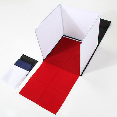 "15"" Board Light Room Product Photo Photography Lighting Tent Backdrop Cube Box"