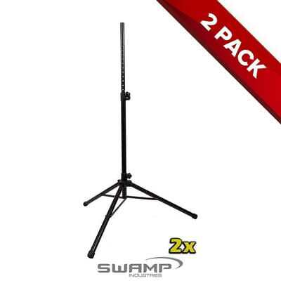 2x (Two) Heavy Duty Steel PA / DJ Speaker Stand