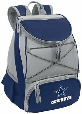 Picnic Time 633-00-138-094-2 Dallas Cowboys - PTX Backpack Cooler- Navy