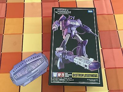 Takara Masterpiece Transformers MP29 Shockwave /w Collector's Coin