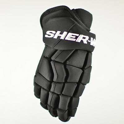Sher-Wood EK15 REKKER ICE HOCKEY GLOVES, RUSSIAN TIGHT FIT