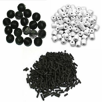 Jebao Filter Media Pack - Foam Ceramic Rings Activated Carbon and Bio Balls