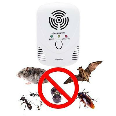 Pest Control Insect Repellent Ultrasonic Electronic Rodent Spider Mice Repeller