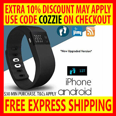 Smart Activity Fitness Tracker Wristband Sport Fitbit Watch For Iphone Android