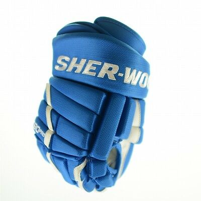 SHER-WOOD T90 PRO Ice Hockey Glove (Royal Blue 2935/ white), pro hockey gloves