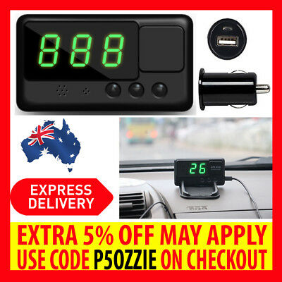 2017 Universal Gps Hud Digital Heads Up Display Car Speeding Warning Usb Adapter