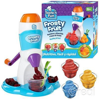 New Taste N Fun Frosty Fruit Slush Machine Sorbet Ice Drink  Official