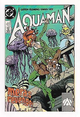 AQUAMAN 3 (VF/NM) 1989 LIMITED SERIES with CURT SWAN ART *