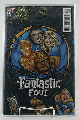 Fantastic Four #645! Michael Golden Connecting Variant! Unread! Marvel! NM!