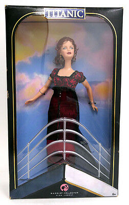 Mattel Barbie Collector Pink Label Titanic Movie Barbie Never Used 2007 Release
