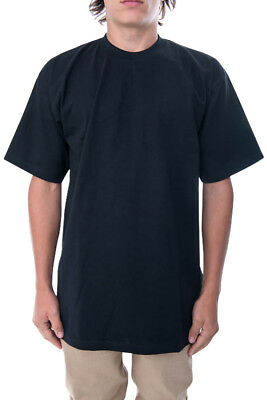 Pro Club Heavyweight Tall Tee Black