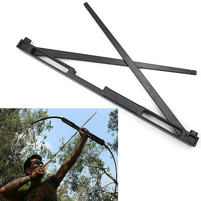 50LBS Archery Folding Take Down Recurve Bow Alloy Riser Hunting Shooting Longbow