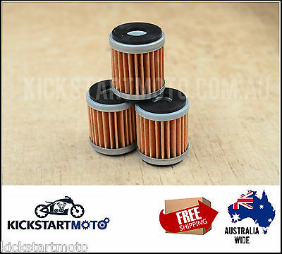 Oil Filters for Yamaha WR250F YZ250F WR YZ 250 F 2014 2015 2016 XT250 12-16
