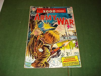 Our Army At War Comics #49, Aug. 1956