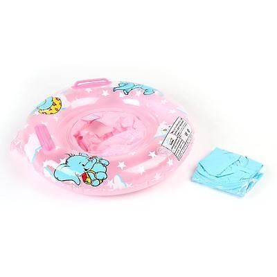 Baby Inflatable Swimming Neck Float Infant Bath Ring Safety Aids