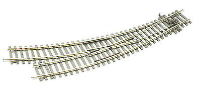 Peco ST-244 – SETTRACK Right Hand Curved Turnout Code 100 – HO Scale