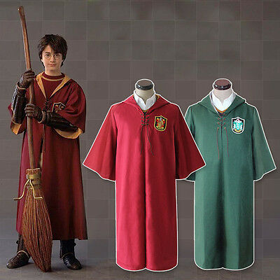 Costume Uniforme Cosplay Harry Potter Quidditch Grifondoro Serpeverde