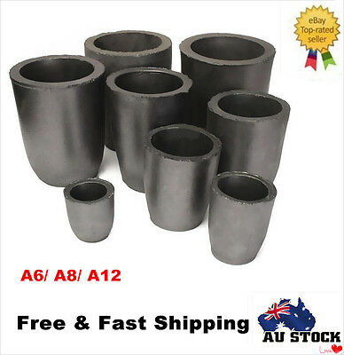 Graphite Crucible Foundry Cup Furnace Casting Melting Jewelry Tool 6#, 8#, 12#