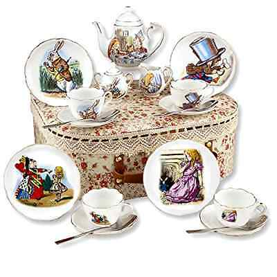 Tea Alice Wonderland Set Cardew Paul New Design 2 Cups Cup Saucer Miniature