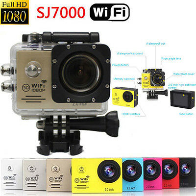 SJ7000 WIFI 1080P Full HD Waterproof Sports DV Action Camera Camcorder For GoPro