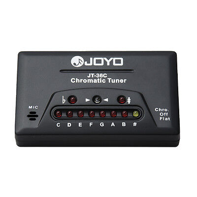 Joyo Chromatic Tuner Guitar Bass Violin Ukulele
