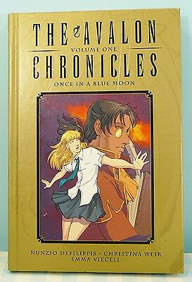 The Avalon Chronicles Volume 1 Once in a blue moon E. Vieceli Manga comic
