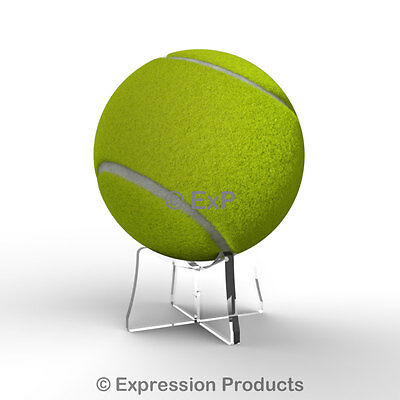 Acrylic Tennis Ball Display Stand Riser Plinth 8 Colours Available