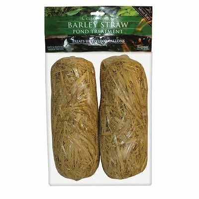 Summit 130 Clear-water Barley Straw Bales, 2-Pack by Summit Chemical Co. NEW