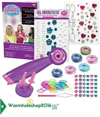 Glam Twirl-Capelli Donna Hair Braider And Wrapper