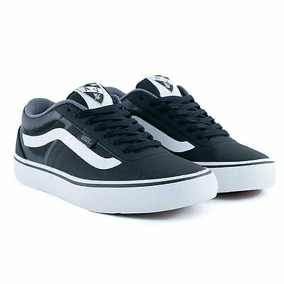Vans AV RapidWeld Pro Black White Skate Shoes Rare Limited New Free Delivery