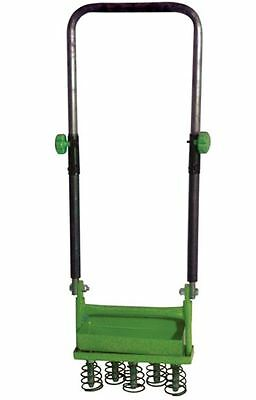 Garden Lawn Hollow Tine Aerator 5 Sprung Heavy Duty Care Outdoor Grass Turf Soil