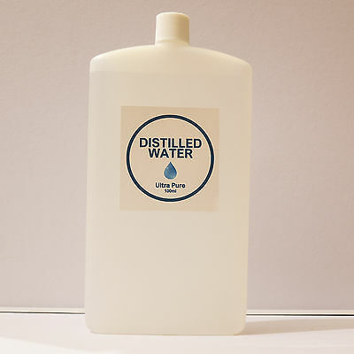 300ml Ultra Pure Quality Distilled Water Cleaner Bottled Fast Delivery Liquid UK