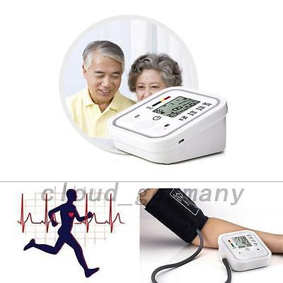 Useful Sphygmomanometer Meter Arm Blood Pressure Monitor Pulse Health Care