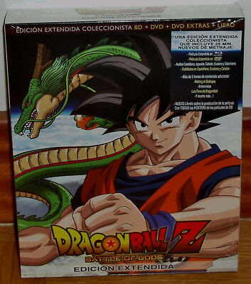 Dragon Ball Z Battle Of Gods Coleccionista Y Extendida Blu-Ray Nuevo Precintado