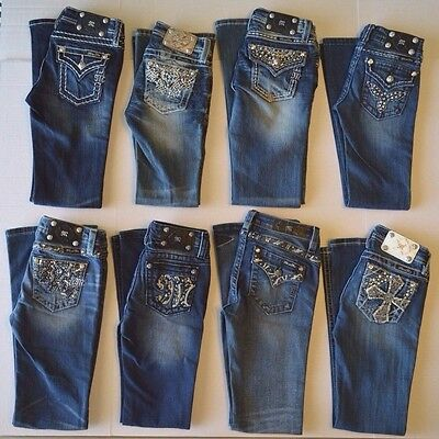 Girl's Youth Miss Me Boot Cut Jeans