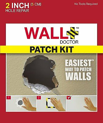 """FiberFix Drywall Patch Kit, 2"""" (8.57E+11) [3 quick and easy steps] NEW"""