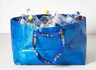 Nwt 19 Gallon Reusable Shopping Grocery Recycling Laundry Bag Tote Eco Friendly
