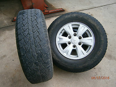 """PAJERO NM - NP Mag Wheels With Tyres  16"""" x 7""""  Mag Wheels  x 4"""