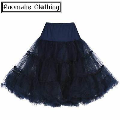 Lindy Bop Navy Blue Children's Petticoat