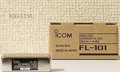 NEW ICOM FL-101 CW 250Hz Narrow Filter IF 9MHz Brand from JAPAN