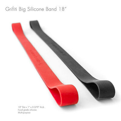 Grifiti Band Joes 18 Inch 2 Pack Tough Silicone Replaces Rubber or Elastic Bands