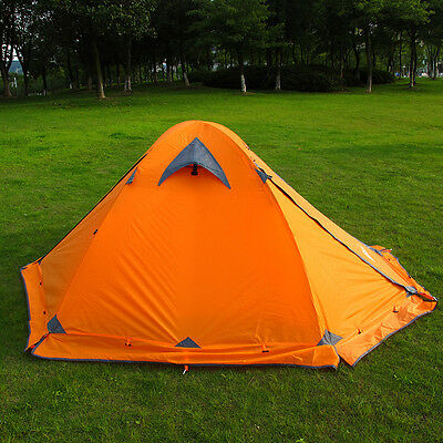New  Flytop Tent double layer 2 person 4season outdoor camping wind snow skirt Y